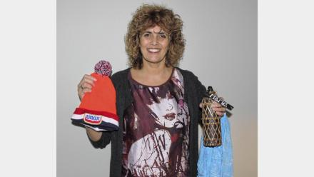 Marlé Janssen duikt mee