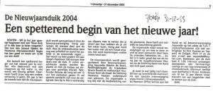 2003 GROENTJE 31-12-03