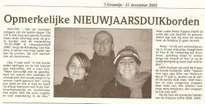 2005 GROENTJE 212051