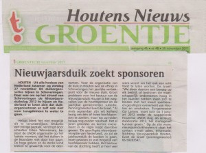 30 nov t'groentje start media