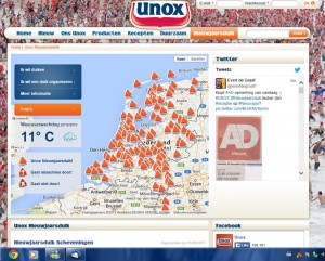 UNOX site twitter tweets x juiste 2