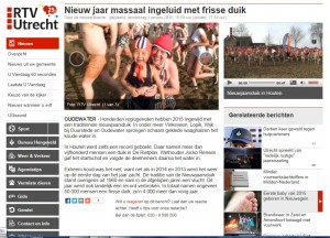 2 jan.RTV Utrecht online januari duiken provincie